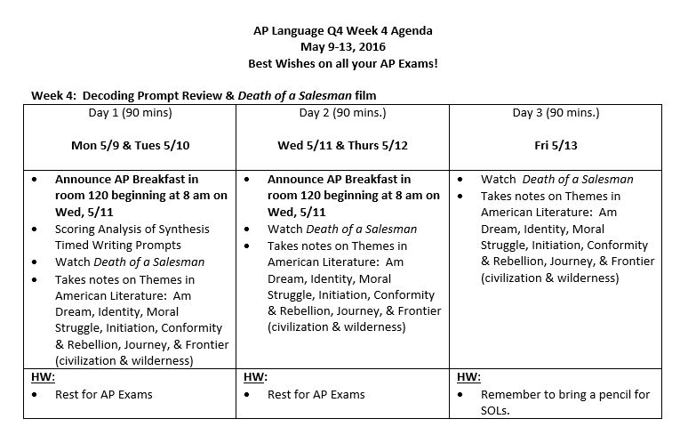 ap lang 11 22 An online view of mr kuhlken's courses ap language semester 2, week 10: 4/8-4/12 ap language semester 2, week 11: 4/15-4/19.